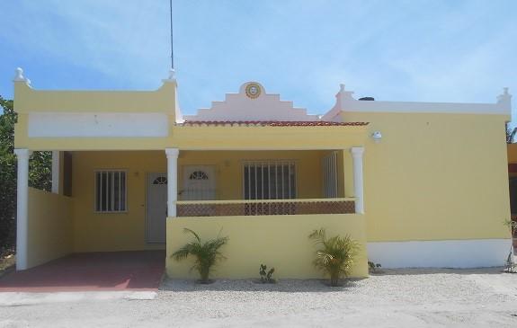 New beach house with pool in Chuburna, Yucatan Mexico