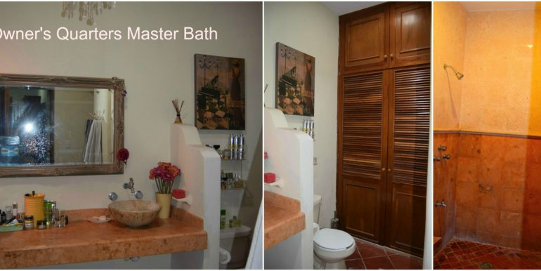 Owner's Quarters Master Bath