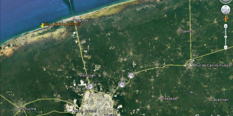 21 Aerial Location - Maya III - 2